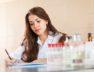 nurse working in medical laboratory